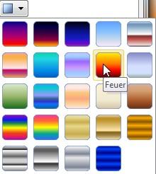 PowerPoint - Grafische Elemente - Komplexe Farbverläufe selbst ...
