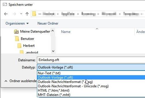 Outlook Erstellen Von Outlook E Mail Vorlagen