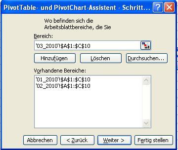 Excel - Datenverwaltung und -bearbeitung - Pivot-Tabelle aus ...